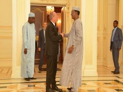 Tchad: l'envoyé spécial de l'ONU pour la Libye, Martin Kobler reçu par le Président Idriss Déby à N'Djaména