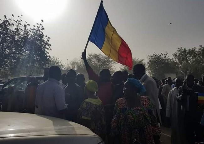 Une marche contre la dictature d'Idriss Déby au Tchad