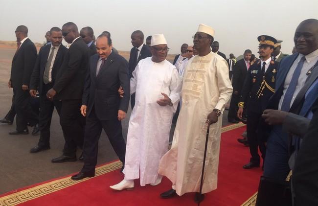 Tchad: le Président Idriss Déby à Bamako pour participer au sommet extraordinaire du G5 Sahel