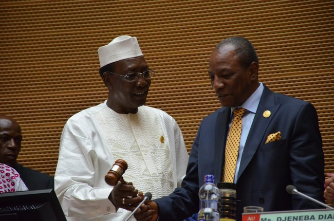 Tchad: le Président Idriss Déby Itno attendu vendredi à Conakry en Guinée