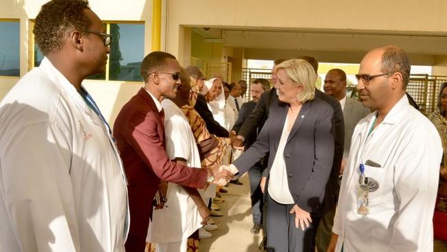 Hinda Déby Itno a-t-elle boycotté la visite de Marine Le Pen au Tchad ?