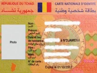Tchad : reprise de la délivrance de la carte nationale d'identité avec une hausse du prix de 250% !