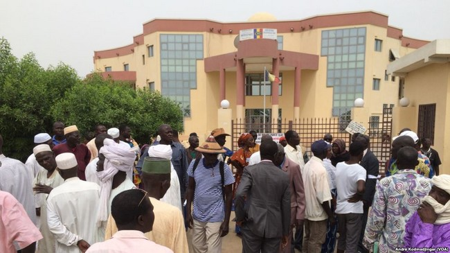 Tchad: sit-in des retraités qui réclament 4 trimestres d'arriérés de leurs pensions