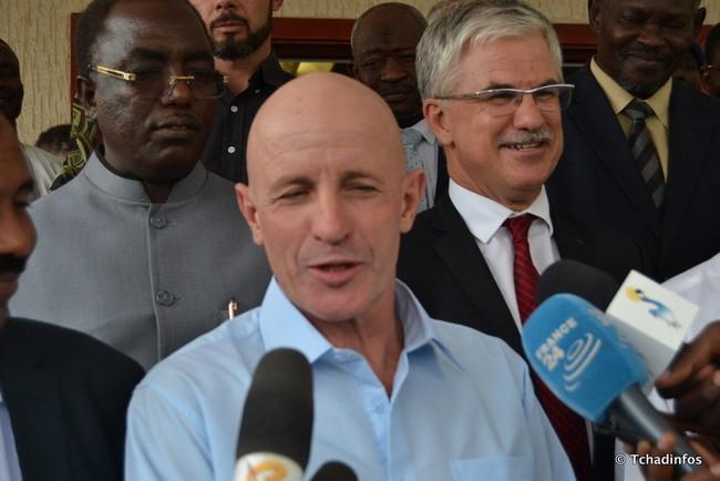 L'ex otage français, Thierry Frezier arrivé à N'Djaména, s'est envolé pour la France