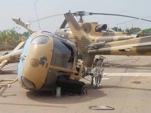 Tchad: la flotte de l'armée de l'air du dictateur Idriss Déby balayée par une forte pluie accompagnée de vent violent