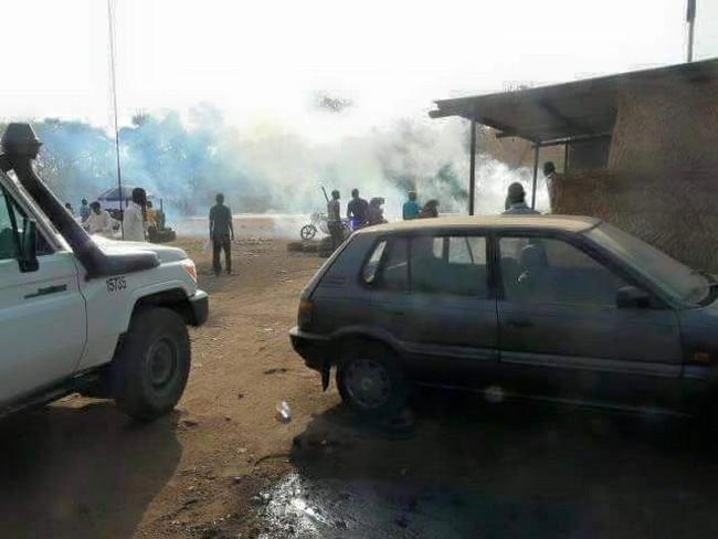 Tchad: la tension est montée encore d'un cran à Moundou après que les policiers aient arraché des t-shirts portés par des femmes à l'effigie de Laoukein Médard