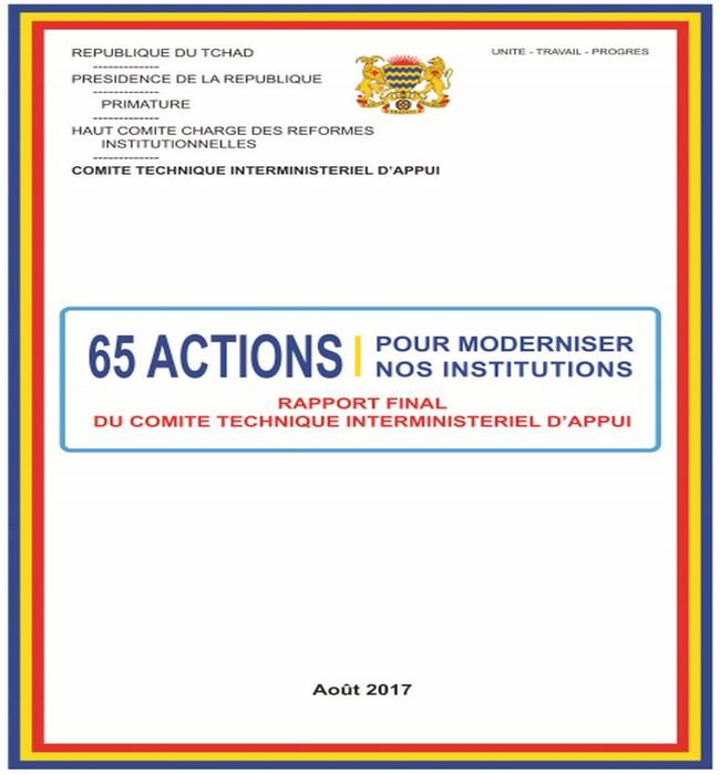 Après le rejet de son rapport sur les réformes institutionnelles au Tchad, Dr Abdoulaye Sabre Fadoul, entre reculade et rebuffade, décide de revoir sa copie