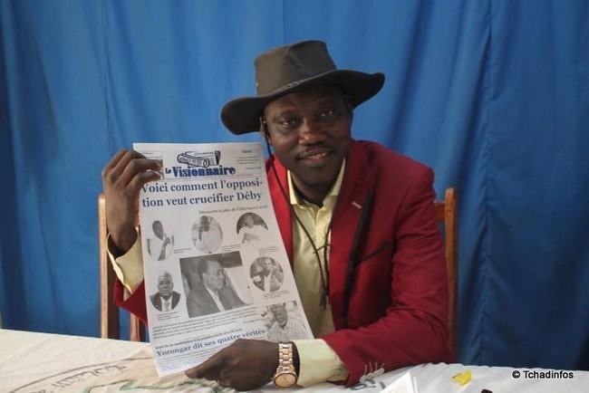 Au Tchad, la justice aux ordres du pouvoir envoie le journaliste Juda Allahondoum en prison dans l'affaire de l'avion A340