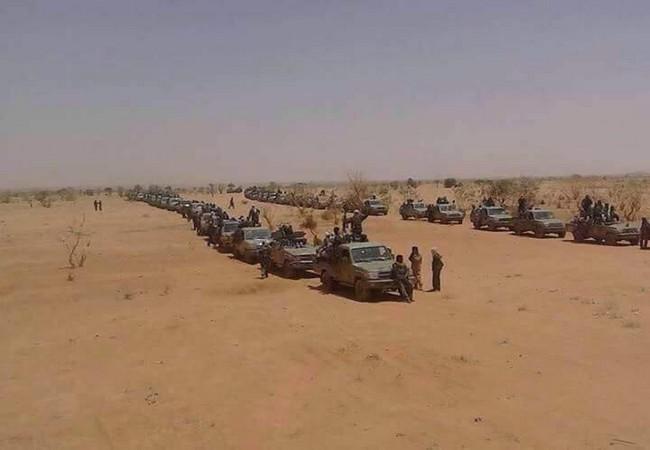 Plus de 4 000 rebelles tchadiens du CCMSR menacent d'attaquer le Niger qui compte extrader leurs trois leaders