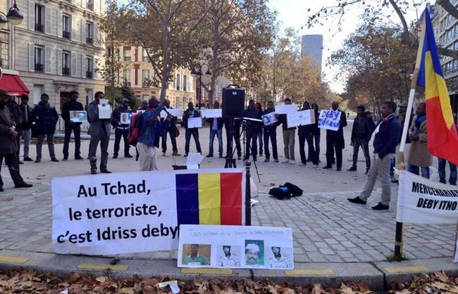 Arrivée des dictateurs Bongo, Déby et Sassou au sommet sur le climat à Paris: Macron et les Diasporas africaines ne sont pas tout à fait sur la même longueur d'onde
