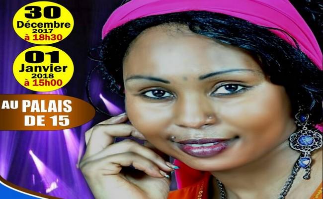 Tchad: la chanteuse Yasmine Abdallah au Palais du 15 janvier à N'Djaména