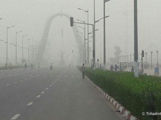 Tchad: N'Djaména sous un voile de poussière