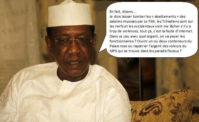 Acculé par le FMI, Idriss Déby ne sait plus à quel saint se vouer pour avoir de l'argent