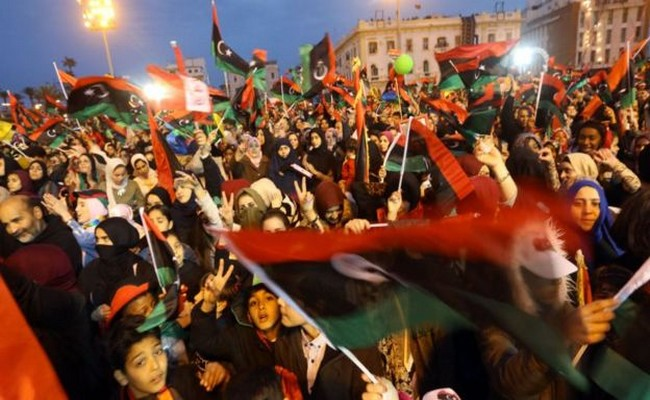 Des milliers de libyens ont célébré ce samedi le 7e anniversaire de la chute de Kadhafi