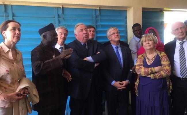 En visite au Tchad, le président du Sénat français Gérard Larcher a rendu un vibrant hommage aux combattants de la France Libre