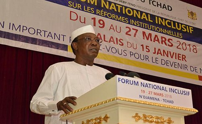 Tchad: le Président Idriss Déby s'interroge sur l'utilité de tous ces partis politiques qui ont boycotté son Forum national «inclusif»