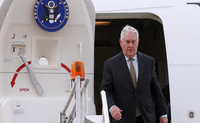 Le secrétaire d'État américain Rex Tillerson débute sa première tournée africaine par le Tchad ce mardi 6 mars