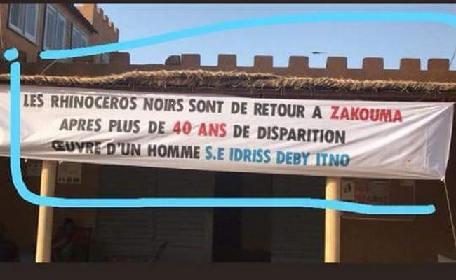 Suite à l'annonce par Idriss Déby d'une amnistie générale à tous les Tchadiens en exil, six rhinocéros noirs ont regagné le bercail après plus de 40 ans passés en Afrique du Sud