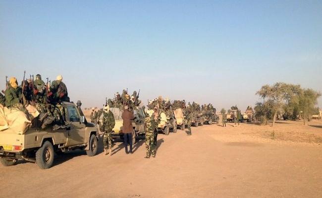 Après les bombardements, des colonnes au sol se dirigent vers Miski dans l'extrême-Nord du Tchad