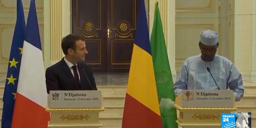 L'opposition agacée par l'annonce de Macron des élections législatives et communales en mai 2019 au Tchad