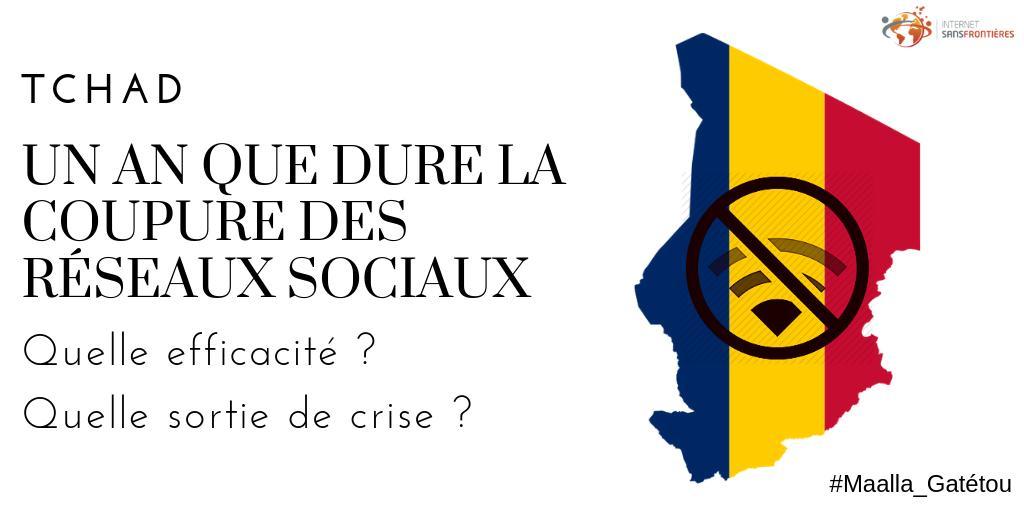 Quand Idriss Déby décide de faire taire la jeunesse de son pays: un an de censure des réseaux sociaux au Tchad