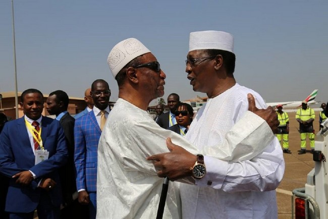 Tchad: le Président Idriss Déby à Conakry pour assister à un Forum sur les énergies renouvellables