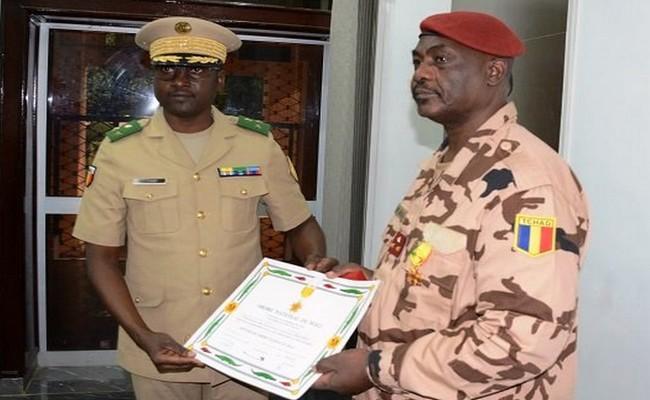 Tchad: le Général Oumar Bikimo élevé au rang d'Officier de l'ordre national du Mali