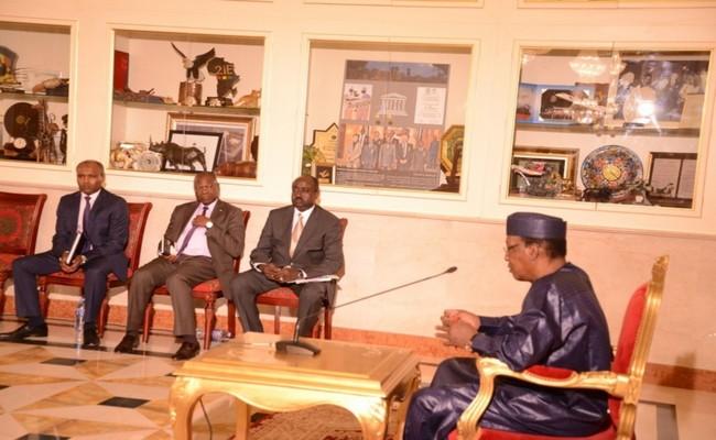 Quand Idriss Déby se fâche et sermonne 89 leaders de l'opposition: «vous n'êtes pas des étudiants dans un amphithéâtre, c'est quoi ça !»