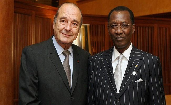 Décès de l'ancien Président français Jacques Chirac: Idriss Déby salue la mémoire de ce «grand Homme d'Etat»