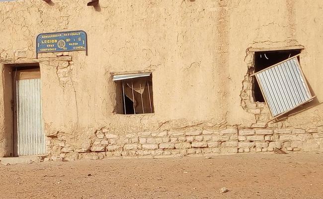 Insolite: les bureaux de la gendarmerie nationale de Mao au Tchad