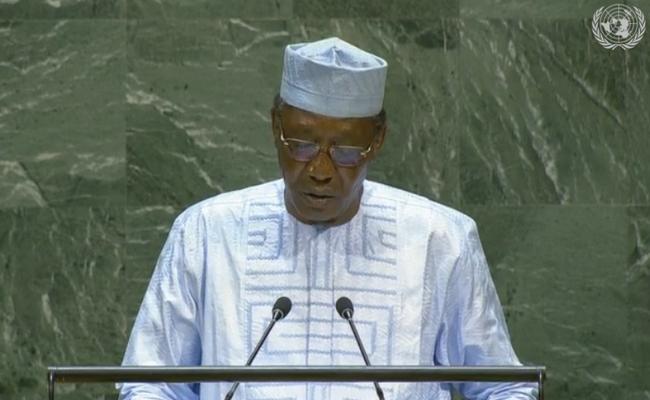 Discours du Président Idriss Déby lors de la 74e session de l'Assemblée générale des Nations Unies