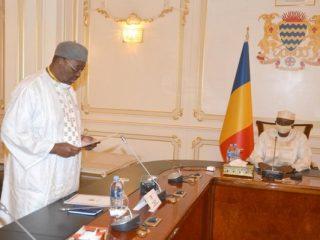 Après avoir boycotté le vote à l'Assemblée nationale, Saleh Kebzabo s'amène au Palais rose pour élever le Général Idriss Déby au titre de Maréchal du Tchad