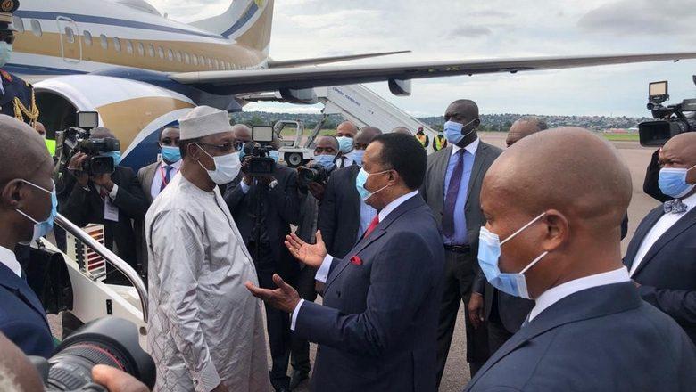Le Maréchal Idriss Déby à la célébration du 80e anniversaire du Manifeste de Brazzaville