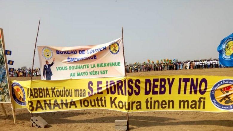 En campagne présidentielle dans le Mayo-Kebbi, Idriss Déby promet la construction d'un hôpital et d'une université, mais «Banana loutti koura tinen mafi»