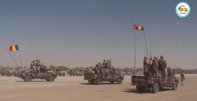 Le Maréchal Idriss Déby annonce l'envoi de 1200 soldats tchadiens dans la zone dite des «trois frontières» entre le Niger, le Mali et le Burkina Faso