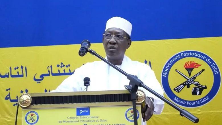Au Tchad, le Maréchal Idriss Déby investi candidat à un sixième mandat sur fond de manifestations et de violences policières