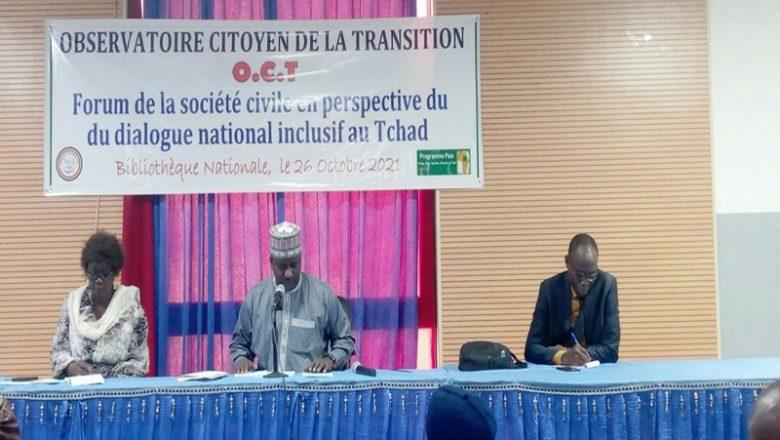 Deux observatoire citoyens émettent des réserves sur la conduite de la transition au Tchad